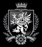 Griffin Crest Stock Image