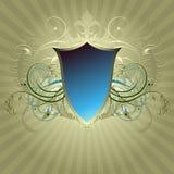 Medieval heraldic shield Stock Photos