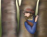 Medieval man Royalty Free Stock Images
