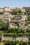 Medieval hilltop town of Gordes. Provence. France Royalty Free Stock Photo