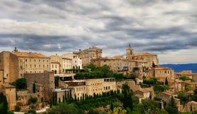 Medieval hilltop town of Gordes. Provence. France. Stock Images