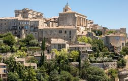 Medieval hilltop town of Gordes. Provence. France Stock Photos
