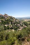 Medieval hilltop town of Gordes. Provence. France Stock Image