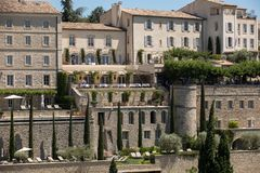 Medieval hilltop town of Gordes. Provence. France Royalty Free Stock Photos