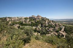 Medieval hilltop town of Gordes. Provence. France Stock Photography