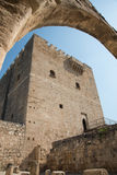 Medieval historic Castle of Kolossi, Limassol, Cyprus Stock Photo