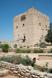 Medieval historic Castle of Kolossi, Limassol, Cyprus Royalty Free Stock Photos