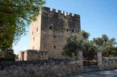 Medieval historic Castle of Kolossi, Limassol, Cyprus Stock Photography