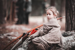 Medieval historical reenactment Stock Images