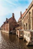 Medieval hospital in Bruges Royalty Free Stock Image