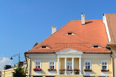 Medieval House. In Sibiu, Romania Stock Photography