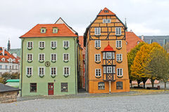 Medieval House Called Spalicek. Market Square In Cheb, Czech Republick. Royalty Free Stock Image