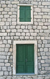 Medieval house facade Stock Photo