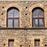 Medieval house facade Royalty Free Stock Photography