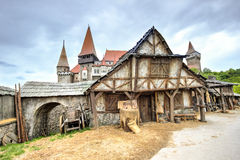 Medieval house Royalty Free Stock Photos