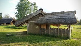 Medieval house in Hungary. Outside medieval house Royalty Free Stock Photography