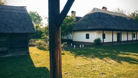 Medieval house in Hungary Stock Photography