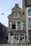 Medieval house in Maastricht Stock Image