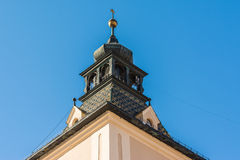 Medieval House Roof Stock Photography