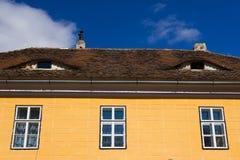Medieval house - Sibiu royalty free stock photos