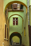 Medieval house, Sighisoara, Romania Royalty Free Stock Image