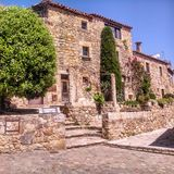 Medieval house Stock Images