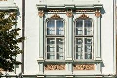 Medieval House Windows Stock Photos
