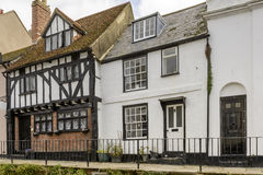 Medieval houses at Hastings Stock Image