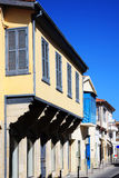 Medieval houses, Nicosia, Cyprus, Royalty Free Stock Photos