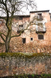 Medieval houses in Siguenza, Spain Stock Image