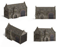 Medieval Houses - Smithy Stock Images