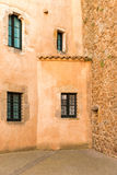 Medieval houses in Tossa de Mar Stock Photography