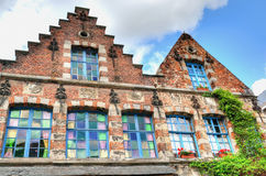 Medieval houses Royalty Free Stock Photo