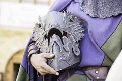 Medieval hull of a Knight Templar Royalty Free Stock Photo