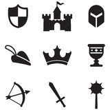 Medieval Icons Stock Images
