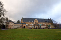 Medieval Imperial Palace (Kaiserpfalz) in Goslar Royalty Free Stock Photography