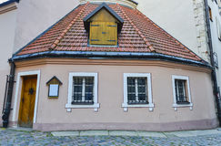 Medieval Inn in old city of Riga Royalty Free Stock Photography