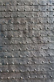 Medieval iron door texture Royalty Free Stock Photo