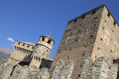 Medieval Italian castle Royalty Free Stock Photo
