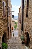 Medieval Italian street Royalty Free Stock Photos