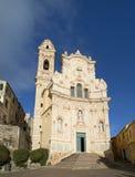 Medieval Italian Village, Cervo, Liguria, Italia Stock Images