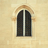 Medieval italian  window Royalty Free Stock Images