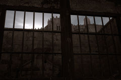 Medieval jail Stock Images