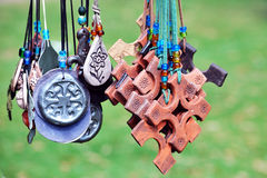 Medieval jewelry Royalty Free Stock Images