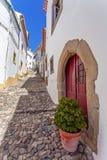 Medieval Jewish Quarter / Ghetto (Judiaria) in Castelo de Vide Stock Photography