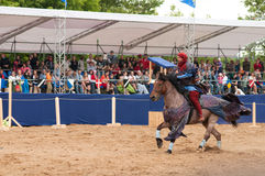 Medieval joust Royalty Free Stock Images