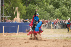 Medieval joust Stock Photos