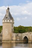 Medieval keep at the Chateau. Chenonceaux. France Stock Photography