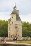 Medieval keep at the Chateau. Chenonceaux. France Royalty Free Stock Image