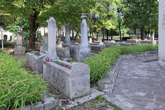 Medieval Khan cemetery Stock Images